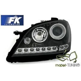 Mercedes M-klasa W164 ML   BLACK LED diodowe LPME64 DEPO