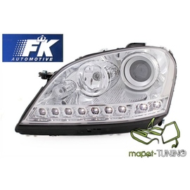 Mercedes M-klasa W164 ML  CHROM LED diodowe LPME63 DEPO