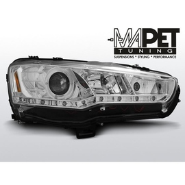 Mitsubishi Lancer 8 08-11 DAYLIGHT CHROM LED LPMI15