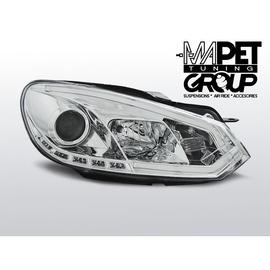 VW Golf 6 - CHROM TUBE LIGHT DRL - Światła jazdy dziennej - LPVWI4