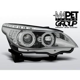 BMW E60 / E61 - Chrom Angel Eyes Ringi kierunkowskazy diodowe LED LPBM93