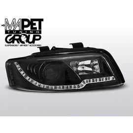 Audi A4 B6 8E - Black DayLight LED + kierunkowskazy LED LPAUC3