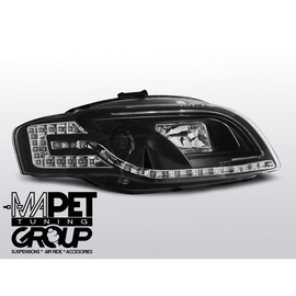 Audi A4 B7 - Black DayLight Tube LED + kierunkowskazy LED LPAUC5