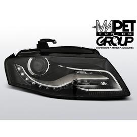 Audi A4 B8 - Black DayLight LED DRL światła jazdy dziennej LPAUC6