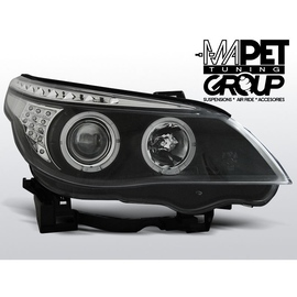 BMW E60 / E61 - Black Angel Eyes Ringi kierunkowskazy diodowe LED LPBM94