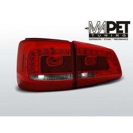 VW Touran II - RED WHITE LED -  diodowe LDVWA9