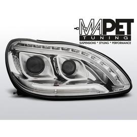 Mercedes S-klasa W220 BLACK LED DRL dzienne diodowe LPME96