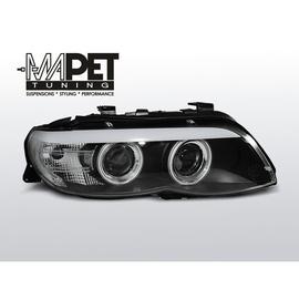 BMW E53 X5 Angel Eyes BLACK CCFL + Pasek LED Xenon LPBMD1