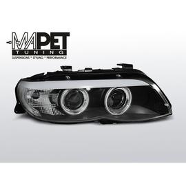 BMW E53 X5 Angel Eyes BLACK Ringi + Pasek LED Xenon LPBMC3