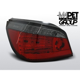 BMW E60 Sedan Clear RED / BLACK Led Diodowe LDBM63