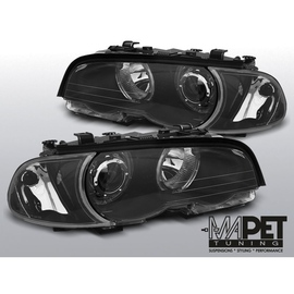 BMW E46 Coupe / Cabrio Angel Eyes BLACK diodowe Ringi LED LPBMG5