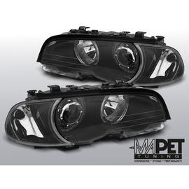 BMW E46 Coupe / Cabrio Angel Eyes BLACK diodowe Ringi LED  LPBMG5