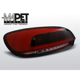 VW Scirocco III   RED / BLACK LED BAR czerwono dymione diodowe  LDVWC2