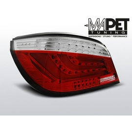 BMW E60 Sedan  Red/White Led BAR  Diodowe LDBMC3