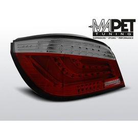 BMW E60 Sedan  Smoked Red Led BAR  Diodowe LDBMC4