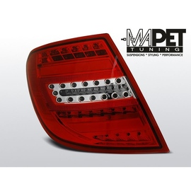 Mercedes C-klasa Kombi (W204) red white LED BAR - FULL LED DIODOWE  LDME83