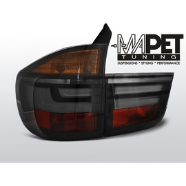 BMW X5 E70 - BLACK SMOKED Led BAR Diodowe LDBME3