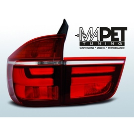 BMW X5 E70 - RED WHITE Led BAR Diodowe LDBME2