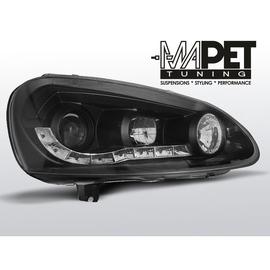 VW Golf 5 / Jetta - DayLight BLACK LED -  LPVW99
