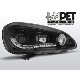 VW Golf 5 / Jetta - diodowe BLACK LED -  LPVW99