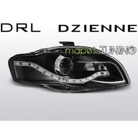 Audi A4 B7 04-08 BLACK Daylight Bi-halogen DRL dzienne LPAUA6