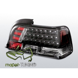 BMW E36 Coupe / Cabrio  diodowe ciemne - LED BLACK LDBM15