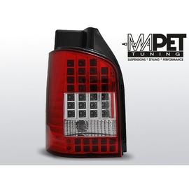 VW T5 Caravelle / Multivan 2003- LED RED WHITE diodowe LDVW44
