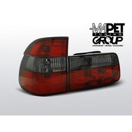 BMW E39 Kombi CLEAR Red / Black Czerwono-dymione LTBM30