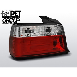 BMW E36 Sedan Clear Red/White Led BAR Diodowe LDBM76