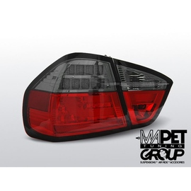BMW E90 Smoked Red Led BAR Diodowe LDBM73