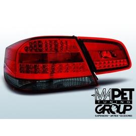 BMW E92 / E93 - Coupe / Cabrio    Red Smoked Led Diodowe LDBMD1
