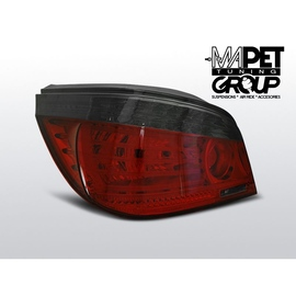 BMW E60 Sedan Clear RED / BLACK LED  Diodowe LDBMA1