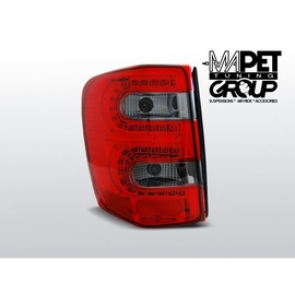 Chrysler  Jeep Grand Cherokee - Red / Black Led - diodowe LDCH09