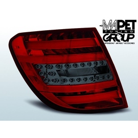 Mercedes C-klasa Kombi (W204) red / black LED BAR - DIODOWE  LDME77