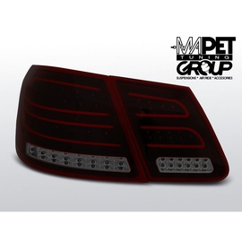 Mercedes E-klasa Sedan (W212) smoked red LED BAR - DIODOWE  LDME88