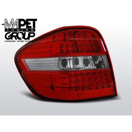 Mercedes M-klasa (W164) Red / White LED DIODOWE  LDME92