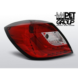 Opel Astra H 3d GTC - RED / WHITE LED BAR  - diodowe  LDOP48