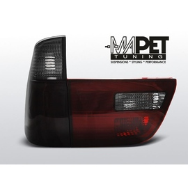 BMW X5 E53 Clear Smoked Red  Led diodowe LDBMA4