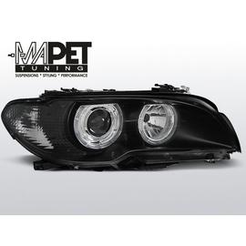 BMW E46 Coupe / Cabrio 03-05 Angel Eyes BLACK Ringi  FK LPBM84