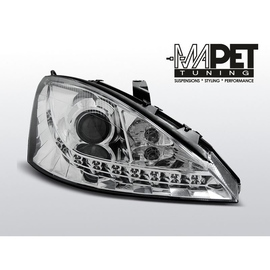 Ford Focus I 98-01 DAYLIGHT CHROM LED LPFO43