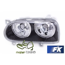 VW Golf 3 clearglass Power Look Black Angel Eyes LPVW29 DEPO