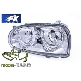 VW Golf 3 clearglass Chrom Power Look Angel Eyes LPVW01 DEPO