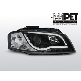 Audi A3 8P 03-08 Tube Light BLACK LED LPAU98