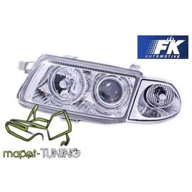 Opel Astra F  Clear  Angel Eyes soczewki ringi  FK LPOP88