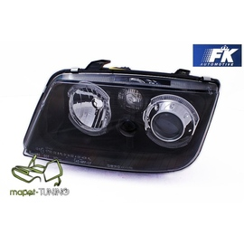 VW Bora clearglass BLACK soczewkowe Angel Eyes czarne FK  LPVWC0