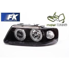 Audi A3 8L Angel Eyes BLACK soczewkowe czarne 2000-2003 FK LPAU22