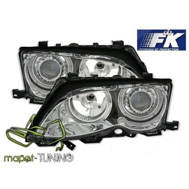 BMW E46 Coupe / Cabrio 01-03 Angel Eyes CHROM Ringi FK LPBM81