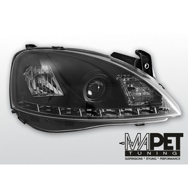 Opel Corsa C - diodowe BLACK LED -   LPOP44