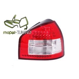 Audi A3   clearglass Red/White LED czerwono-białe LDAU41