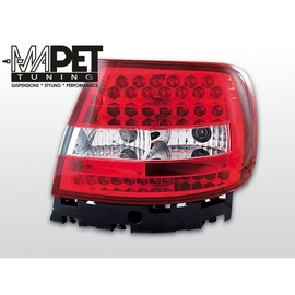 Audi A4 B5 Sedan - Clear Red/White  Led - Diodowe LDAU47